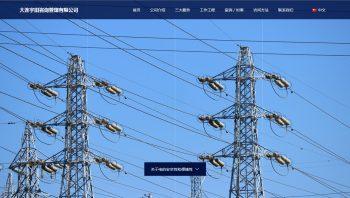 大连宇田咨询管理有限公司的主页公开了