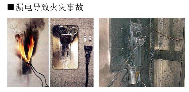 1-2. 漏电导致火灾事故