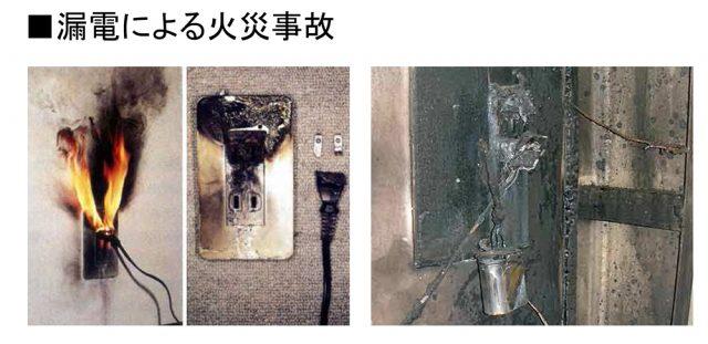 1-2. 漏電による火災事故発生率低減